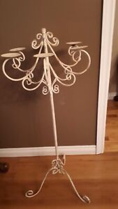 8- tall candle holders