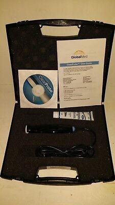 Globalmed Clearprobe Gmd6175va01 Handheld Usb 7.5 Mhz Vascular Ultrasound Probe