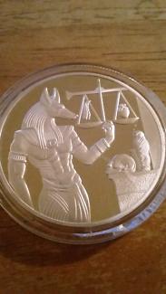 Egyptian Anubis Coin