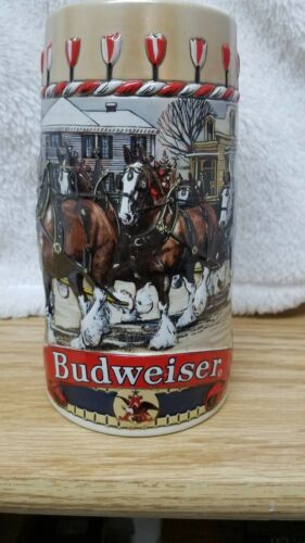 "Budweiser 1986 Collector's ""B"" Series Beer Stein/mug/cup"