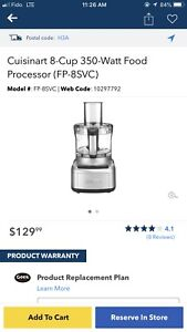Cuisinart food processor  robot cuisine
