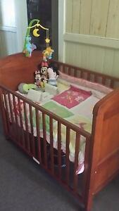 Baby Cot 3 in one with Matress Grafton Clarence Valley Preview
