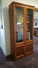 Three Solid Timber Display Cabinets - Perfect Condition Croydon Maroondah Area Preview