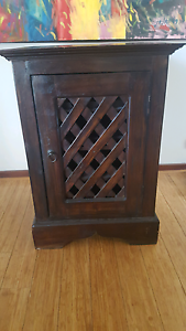 Antique style solid wood wine rack. Como South Perth Area Preview