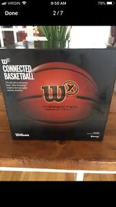 Sold PPU Wilson Bluetooth Connect Basketball