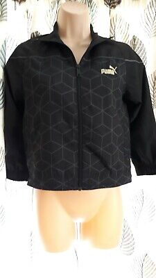 Puma Womens Ladies Short Jacket Clothing size 8