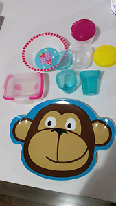 FREE kids plates & storage / snack pots Southern River Gosnells Area Preview