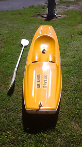 2.9 METRE FIBREGLASS WAVE SKI WITH PADDLE Crescent Head Kempsey Area Preview