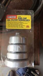 Set of oil filter cap wrenches