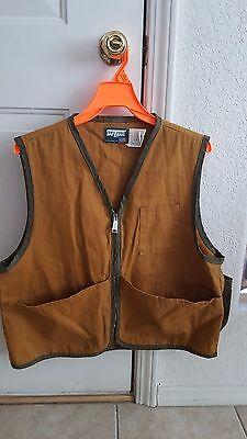 Saftbak Brown Duck hunting vest Medium Style 610