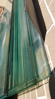 12 mil pool fence glass