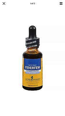Herb Pharm Feverfew Liquid Herbal Extract - 1 fl oz FAST SHIPPING