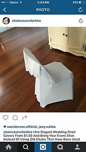 Hire chair covers $1.00with sewn in sash Strathfield Strathfield Area Preview
