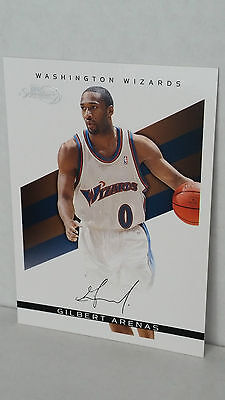 Wizards Arenas (2008-09 Topps Signature Facsimile Black TS-GA GILBERT ARENAS /289 ! (Wizards))