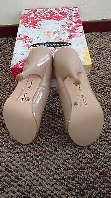 Chinese Laundry New Love Patent Nude Leather Heels Size 6