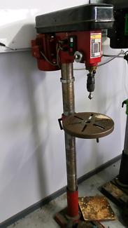 Full height drill press
