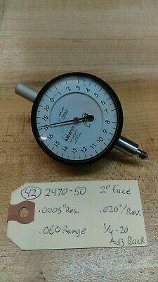 Mitutoyo Dial Indicator 2470 - 50