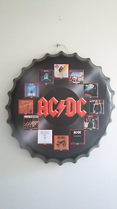 AC/DC bottle top 42cm wall hangings Burleigh Waters Gold Coast South Preview