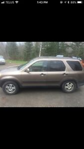 03-04 Crv . Selling parts only has been dismantled