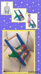 Rattle Rumble Wooden Push Toy