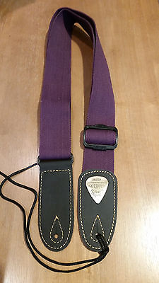 Soldier 2002 Adjustable Nylon/Cotton Guitar Strap !! FREE US