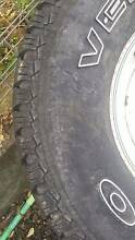 Second Hand tyre - 31x10.5r15  - RIM INCLUDED Holland Park Brisbane South West Preview