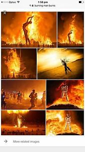 Burning Man 2017 Mascot Rockdale Area Preview