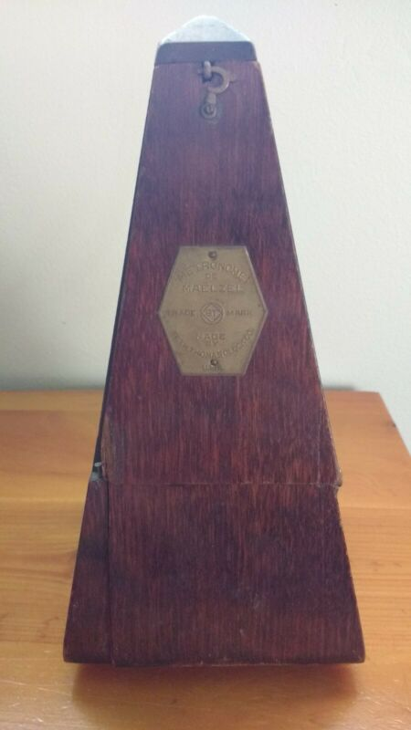 Antique Metronome De Maelzel - Seth Thomas Clock Co. USA