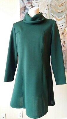 Star Trek Mini Dress (VINTAGE 1960s 1970s 70's 60's STAR TREK STYLED MINI MOD COWL NECK DRESS)