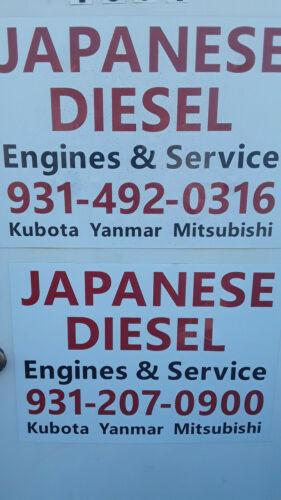 Yanmar John Deere Diesel Engine  3TNA72  21HP