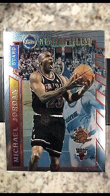 Michael Jordan 1996. Topps Finest Mystery. #M14 Borderless.MINT..
