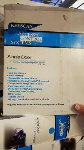 Keyscan Dormakaba CA150Single Door PoE Equipped Access Control Panel