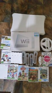 Nintendo Wii, Games, Accessories including Fit Board  Gray Palmerston Area Preview