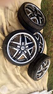 215/35R18 RIMS AND TIRES