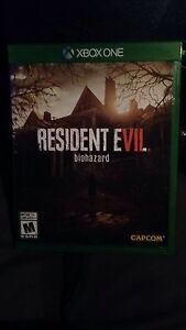 Resident Evil 7 for Xbox One 60$ or Best Offer