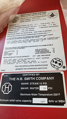 Smith Gb 100w Residential Gb100 Atmospheric-vented Hot Water Gas-fired Boiler