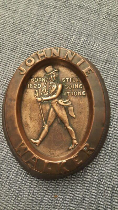 Vintage Johnnie Walker Tip Tray