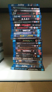 25 blurays for sale