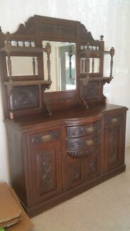Antique sideboard/buffet Kyabram Campaspe Area Preview