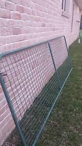 GREEN METAL GATE - 3.6x1.2m Wilberforce Hawkesbury Area Preview