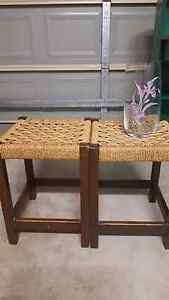 2x Seagrass Stools Rothwell Redcliffe Area Preview
