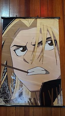 "FULLMETAL ALCHEMIST ""EDWARD ELRIC - CLOSEUP"" 60cm X 90cm ANIME CLOTH WALL SCROLL"