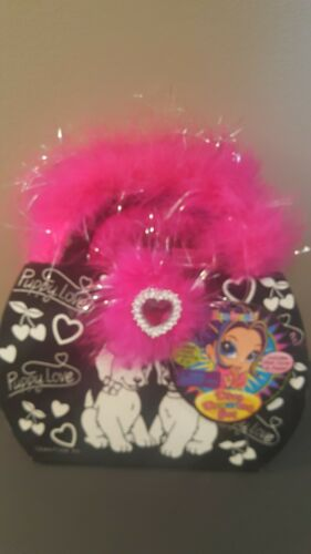 Lisa Frank Diva Drawing Set Puppy Love Purse CarryCase