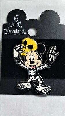 Disney DLR Halloween 2000 Mickey Mouse in Skeleton Costume, LE 1200, EUC