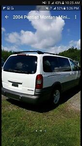 2004 Pontiac Montana fully loaded