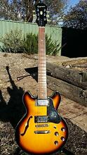 Semi Hollow Les Paul Guitar Kambah Tuggeranong Preview