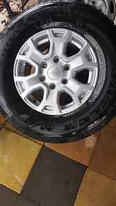 2016 Ford ranger wheels Berriedale Glenorchy Area Preview