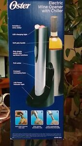 Oster Electric Wine Bottle Opener With Chiller Peterborough Peterborough Area image 2