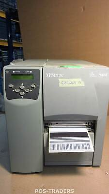 Zebra S4M S4M00-200E-0100D USB Direct Thermal Barcode Label Printer 572,065 INCH