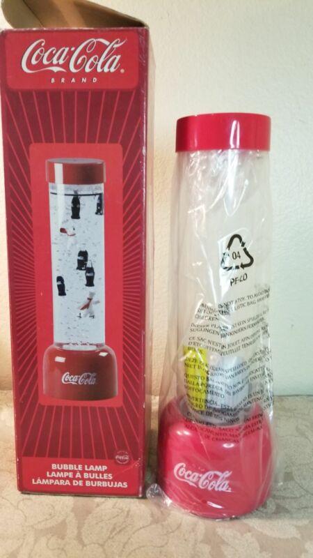 """Coca-cola 14"""" Bubble Lamp New in Box"""
